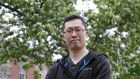 Fangzhe Qiu who is a lecturer and assistant professor at UCD's School of Irish Celtic Studies and Folklore: 'It's not just about the delay, it's the attitude towards the Irish language.' Photograph: Nick Bradshaw/The Irish Times