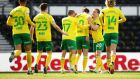 Norwich have been promoted back to the Premier League. Photo: Alex Pantling/Getty Images