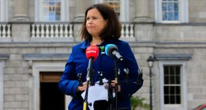 Sinn Féin leader Mary Lou McDonald: 'I have an absolute commitment and responsibility to make sure that no family faces that again.' File photograph: Collins