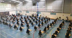 The 68-page senior-cycle reform report acknowledges that the emphasis on final exams is seen by many as causing a 'negative backwash' in teaching and learning. File photograph: Dara Mac Dónaill