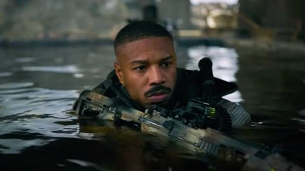 Michael B Jordan in Tom Clancy's Without Remorse