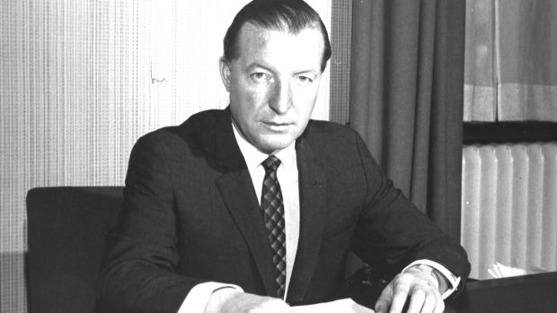 Charles J Haughey at the time of the arms trial