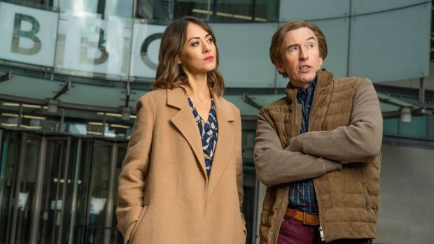 Susannah Fielding and Steve Coogan in This Time Alan Partridge