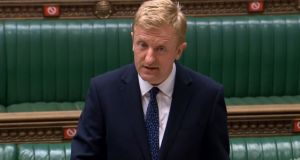 Culture secretary Oliver Dowden speaking in the House of Commons. Photograph: House of Commons/PA Wire