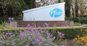 Pfizer employs about 3,700 staff in Ireland across a number of different facilities in Cork, Dublin and Kildare. Photograph: Reuters