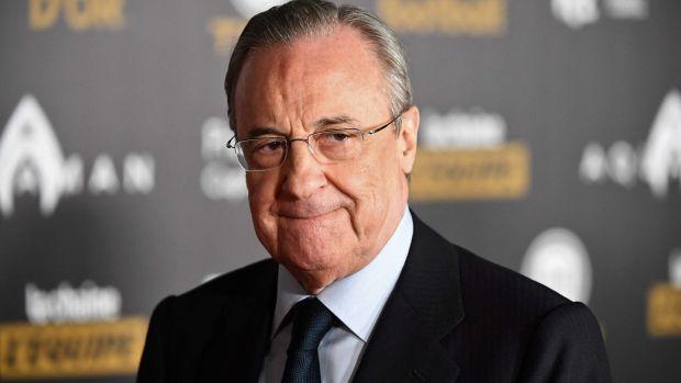 Real Madrid president Florentino Perez. Photograph: Franck Fife/Getty/AFP
