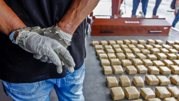 The global illicit drug market in particular seemed able to continue throughout the pandemic with business largely as usual. Photograph: Getty Images