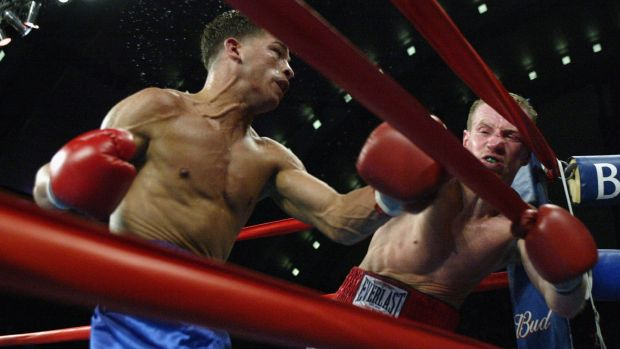 When he dies, Mickey Ward's brain will be donated to scientists to analyse the true extent of the damage done. File photograph: Getty Images