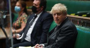 Prime Minister Boris Johnson has begun easing lockdown measures in the UK. Photograph:  UK Parliament/Jessica Taylor/PA Wire