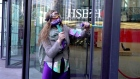Climate activists shatter windows at HSBC HQ in London