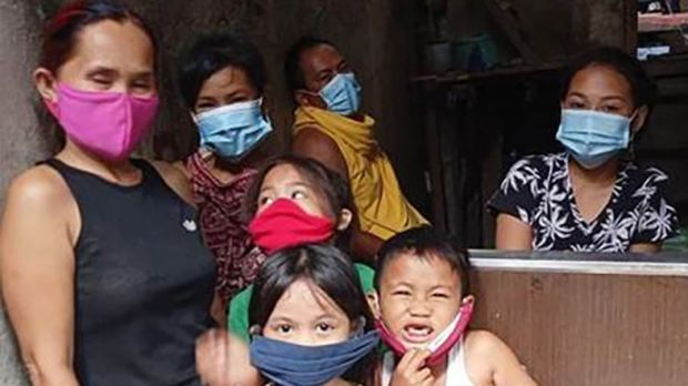 Masks and face shields are not even a debate for people outside their homes says Gavan Kennedy, who is soending the pandemic in the Philippines