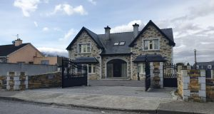 Patrick Coffey's large property at Upper Ballycasheen, Killarney, Co Kerry, seized by the Criminal Assets Bureau in the course of Operation Tarmac.