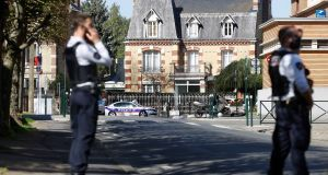 Terrorism investigation launched as police worker stabbed to death in France