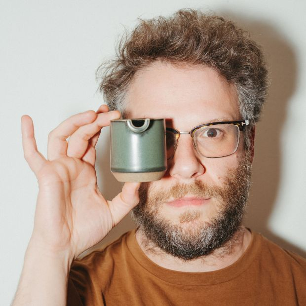 Seth Rogen: 'We will not shy away from very uncomfortable conversations.' Photograph: Ryan Lowry/New York Times