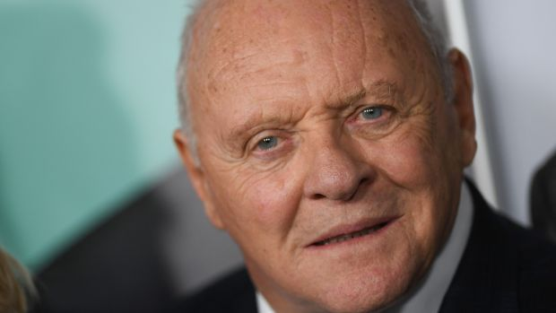 Anthony Hopkins became the oldest actor to win an Oscar, for his role in The Father. Photograph: Valerie macon / AFP)