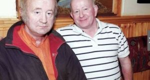 Brothers Willie and Paddy Hennessy, pictured in 2009. The men died along with another brother, Johnny, in a double murder-suicide in Curraghgorm, Co Cork in February. Photograph: Seán Burke/Provision
