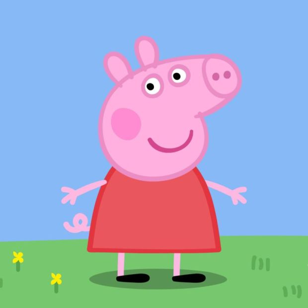 Peppa Pig. Photograph: Channel 5/PA Wire