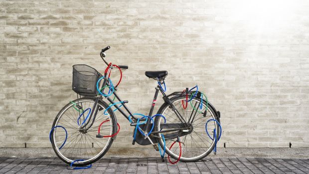 Your aim should not be to make your bike impossible to rob but to make it harder to rob than the bike next to it. Photograph: iStock