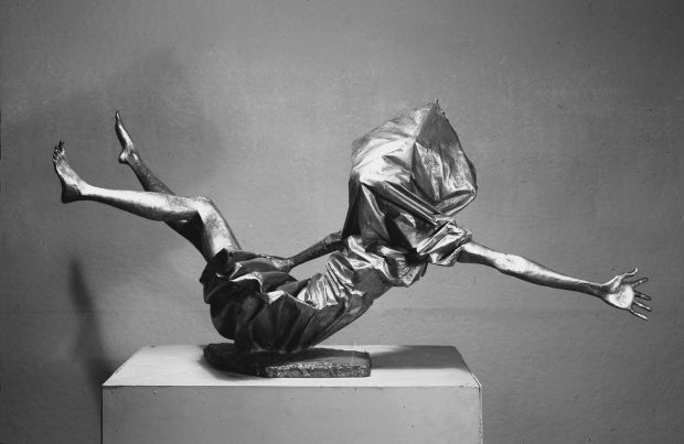 Part of the Women of Belfast series by Banbridge sculptor FE McWilliam