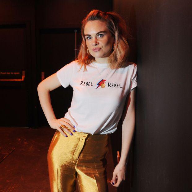 Comedian Joanne McNally spoke about her pelvic floor on a chatshow. Photograph: Aidan Crawley