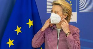 "European Commission president Ursula von der Leyen has called for a ""swift conclusion"" to final negotiations on the certification so that it will be ""up and running"" by June. Photograph: Olivier Matthys/Getty Images/Bloomberg"