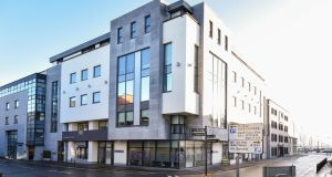 Merchants Square in Galway comprises three floors of office accommodation and three penthouse apartments.
