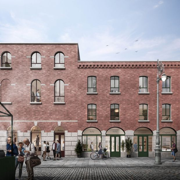Images from the Moore Street Preservation Trust plan for the street.