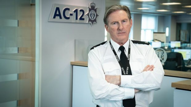 Fans may be able to do without further Line of Duty, but you can sense they are already mourning the looming lack of Ted Hastings (Adrian Dunbar) in their lives. Photograph: Steffan Hill/BBC/PA