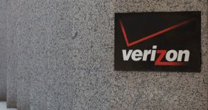 Verizon has struggled to make headway in a highly competitive internet advertising space dominated by Facebook Inc and Google and has focused its resources on developing 5G. Photograph: Alastair Pike/AFP