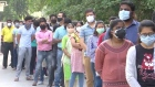 Indians in New Delhi queue for vaccinations as infections soar