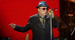 Van Morrison performs on stage during Music For The Marsden 2020 at The O2 Arena on March 3rd last year in London. Photograph: Gareth Cattermole/Getty Images