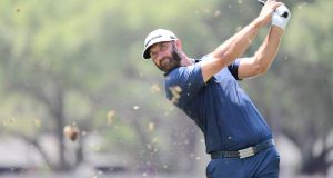 Dustin Johnson is among the players being targeted for a new breakaway golf league. Photograph: Julio Aguilar/Getty