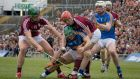 Action from the 2017 League final, when Galway beat Tipp. Photograph: Morgan Treacy/Inpho