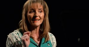 Sinn Féin                   MLA Martina Anderson will not be contesting next                   Stormont election. Photograph: Dara Mac Dónaill