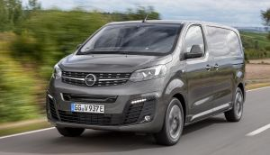 The Opel Vivaro-e is easy to drive, comfortable (even on long journeys), and has a usefully square, tall, loadbay (plus sliding doors on both sides, which helps). It's also fast to charge when you need it to be.