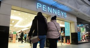 The Penneys famine underlines another aspect of its business model – in a world gone digital Penneys/Primark still has no ecommerce offering. Photograph: Dara Mac Dónaill