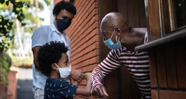 Family reunions: from May 10th, unvaccinated people (who aren't at risk of severe disease) from one household can meet vaccinated people from one or two other households. Photograph: E+/iStock/Getty