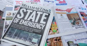 Myanmar's journalists keep reporting on the run from the junta