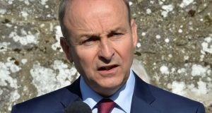 Late last month Taoiseach Micheál Martin told the Dáil 'the target is still the target'. File photograph: The Irish Times