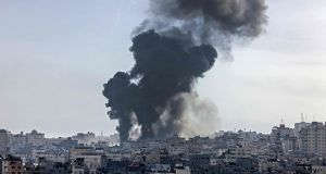At least 35 killed in Gaza and five in Israel as violence escalates