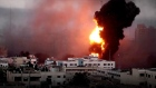 Israeli strikes hit Gaza as violence escalates