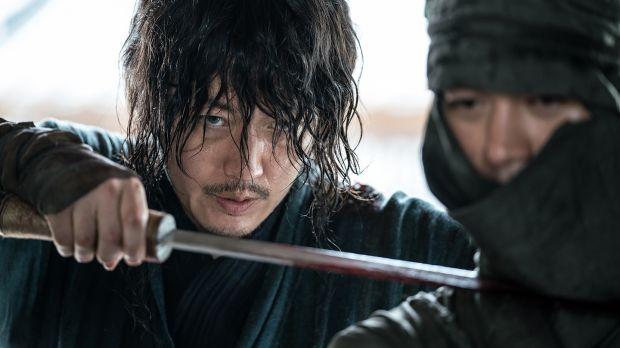 Jang Hyuk vo filme Mečiar