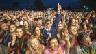Electric Picnic in 2018: Confidence is growing that a return to such live events  is imminent. Photograph: Dave Meehan