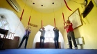 Bells ring out in celebration as Dublin church re-opens for services