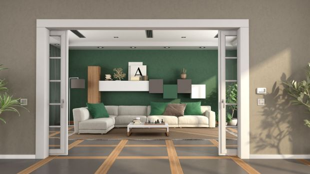 'People want individual spaces with rooms that can be divided with sliding pocket doors or screens,' says architect John McLaughlin. Photograph: Getty