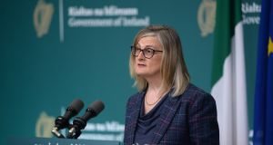Liz Canavan: the number of people in receipt of the Pandemic Unemployment Payment continues to fall. File photograph: Dara Mac Dónaill/The Irish Times