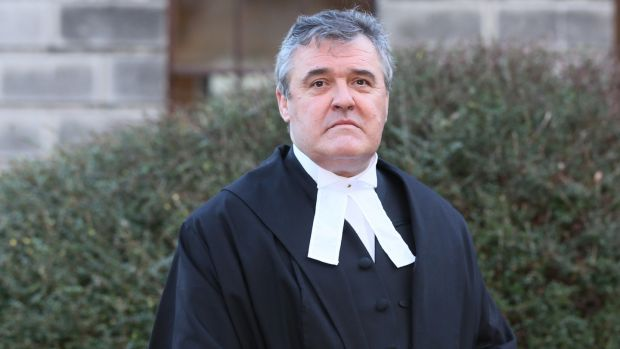 Circuit Court Judge Brian O'Callaghan. Photograph: Courts           Collins