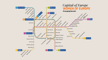 Reworked Brussels metro map celebrates Irish women