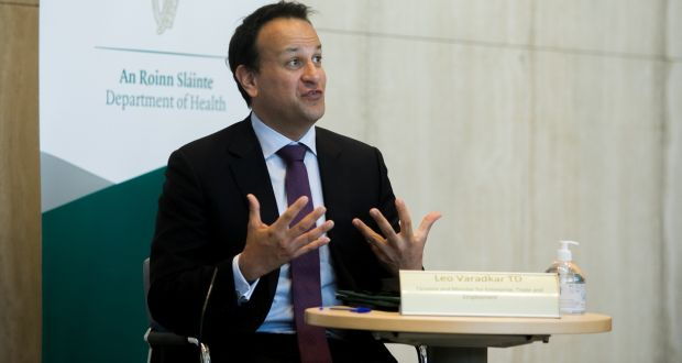 Mandatory hotel quarantine will also be with us in some form for some time to come, Mr Varadkar has said. Photograph: Gareth Chaney/Collins