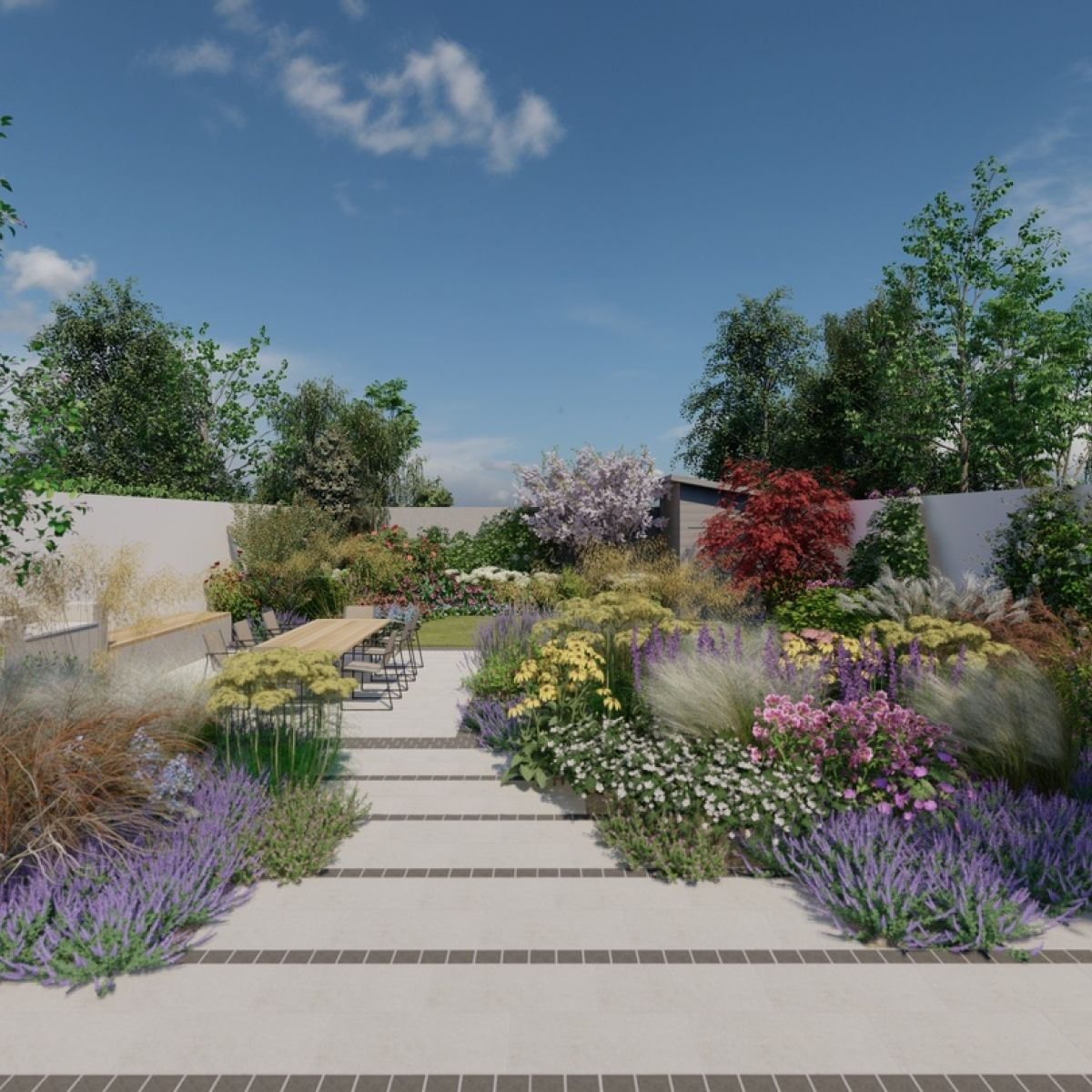 Celebrate Spring By Planning A Fabulous Flower Garden Layout Networx